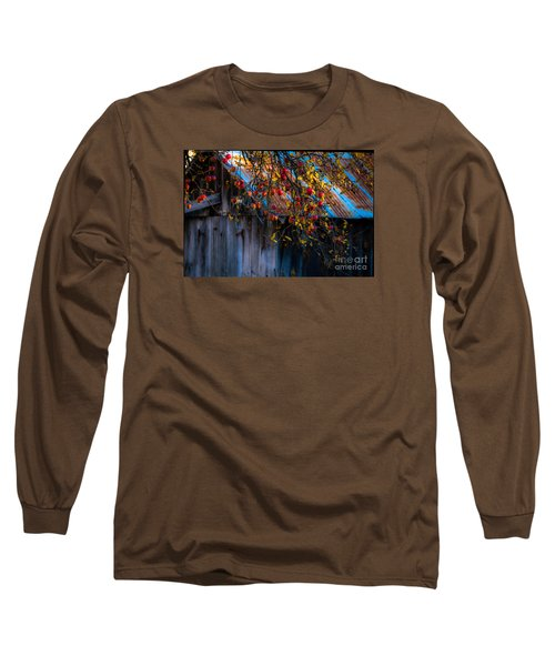 The Old Barn Long Sleeve T-Shirt by Sherman Perry