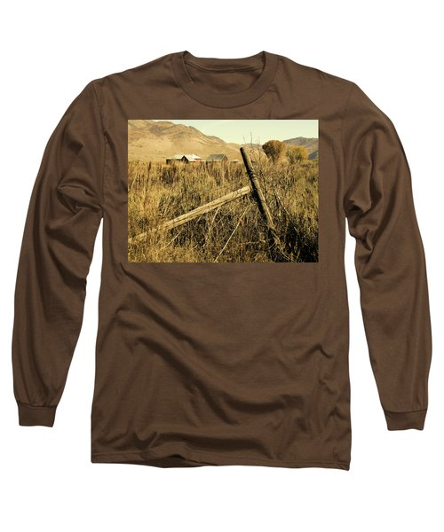 The Old Fence Post Long Sleeve T-Shirt