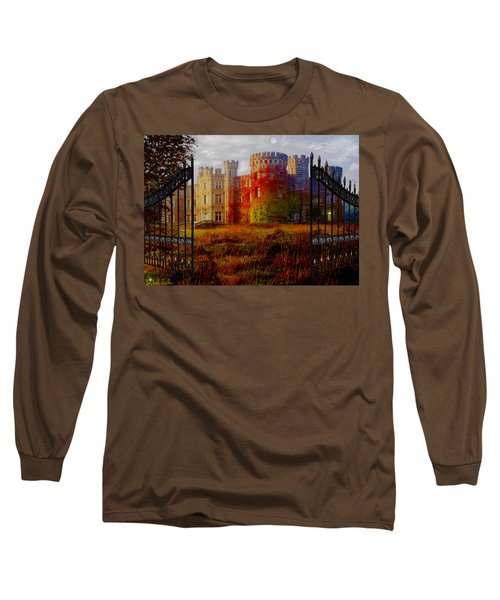 The Old Haunted Castle Long Sleeve T-Shirt