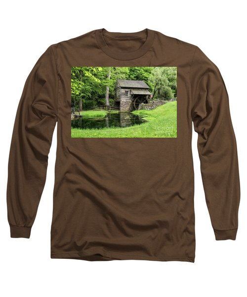 The Old Mill Long Sleeve T-Shirt by Nicki McManus