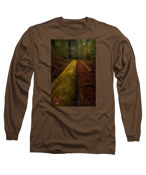 The Old Mossy Trunk Long Sleeve T-Shirt