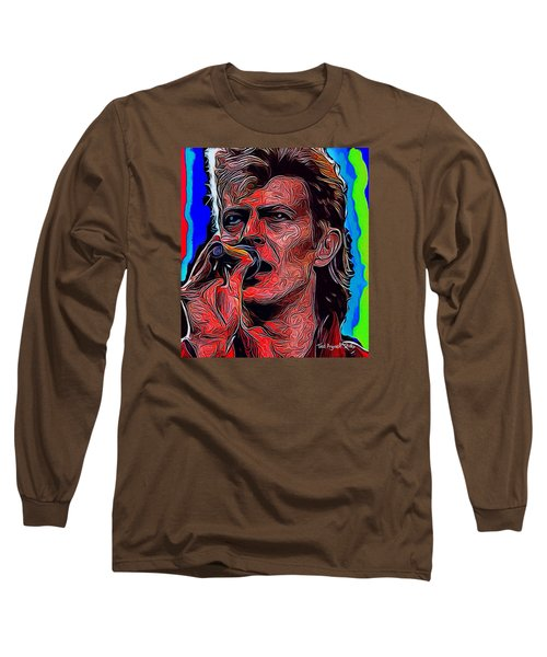 The One, The Only, David Bowie Long Sleeve T-Shirt