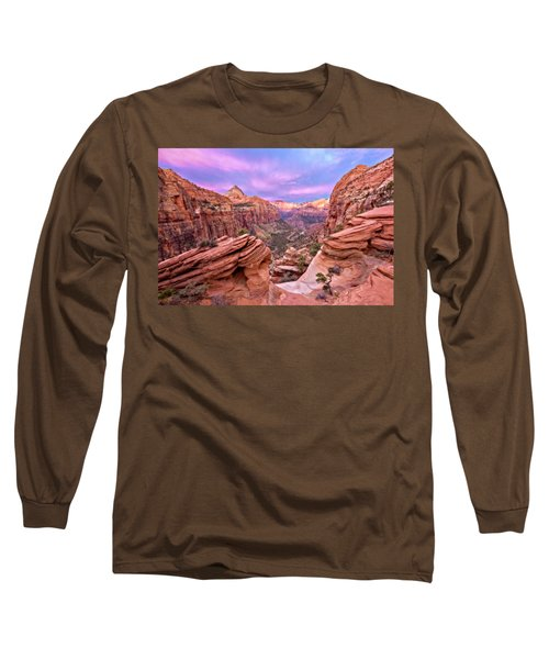 The Overlook Long Sleeve T-Shirt by Eduard Moldoveanu