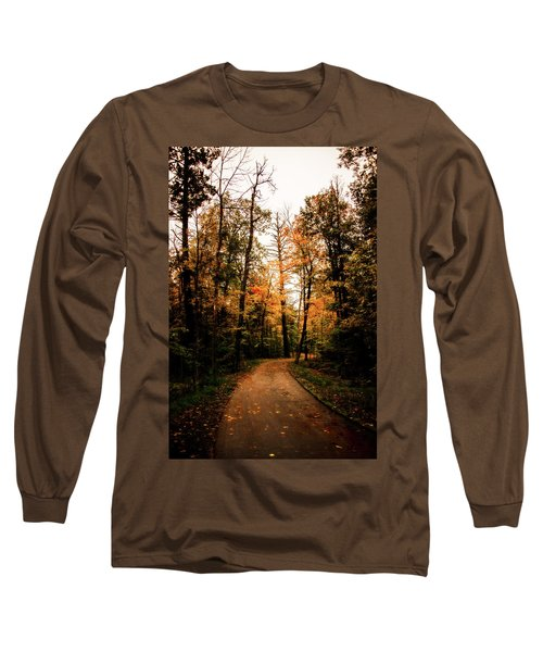 The Path Long Sleeve T-Shirt by Annette Berglund
