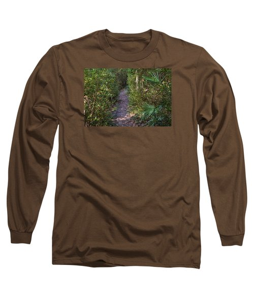 The Path Of Life Long Sleeve T-Shirt by Kenneth Albin