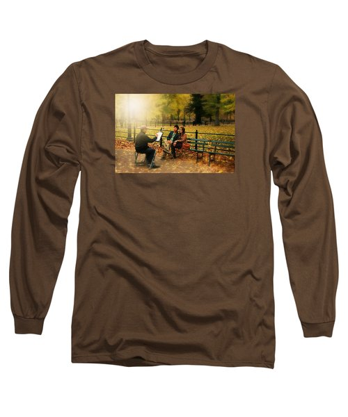 The Portraiture Long Sleeve T-Shirt by Diana Angstadt
