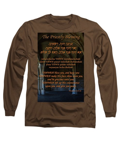 The Priestly Aaronic Blessing Long Sleeve T-Shirt
