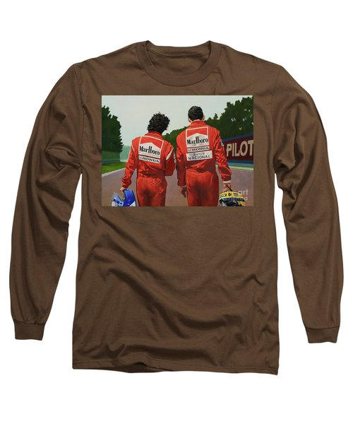 The Professor And The Magician Long Sleeve T-Shirt