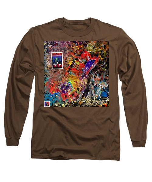 The Red Paintings Long Sleeve T-Shirt