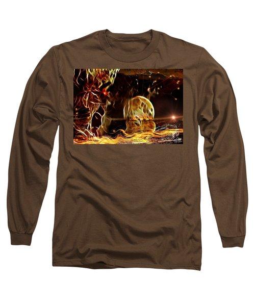 The Rising Horizont  Long Sleeve T-Shirt