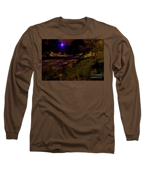 Long Sleeve T-Shirt featuring the photograph The Rushing Rio Tomebamba IIi by Al Bourassa