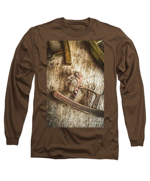 The Rusted Toy Horse Long Sleeve T-Shirt