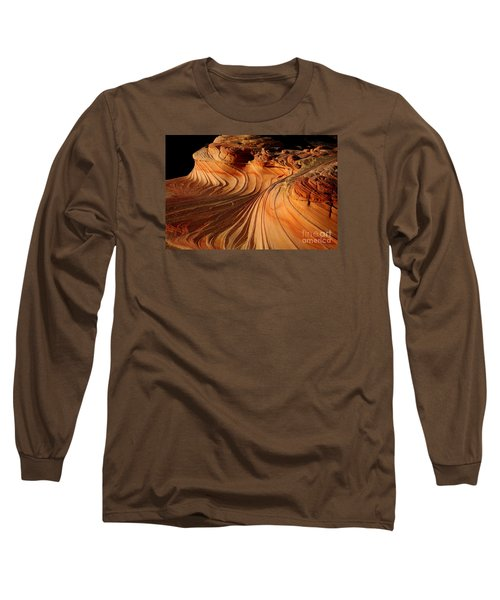 The Second Wave Long Sleeve T-Shirt by Keith Kapple