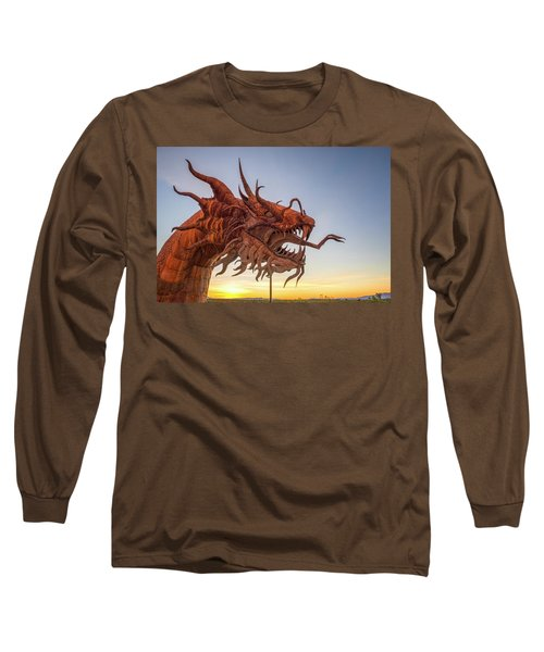 The Serpent At Sunrise #3 Long Sleeve T-Shirt