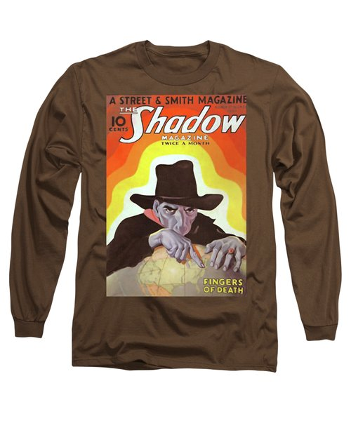 The Shadow Fingers Of Death Long Sleeve T-Shirt