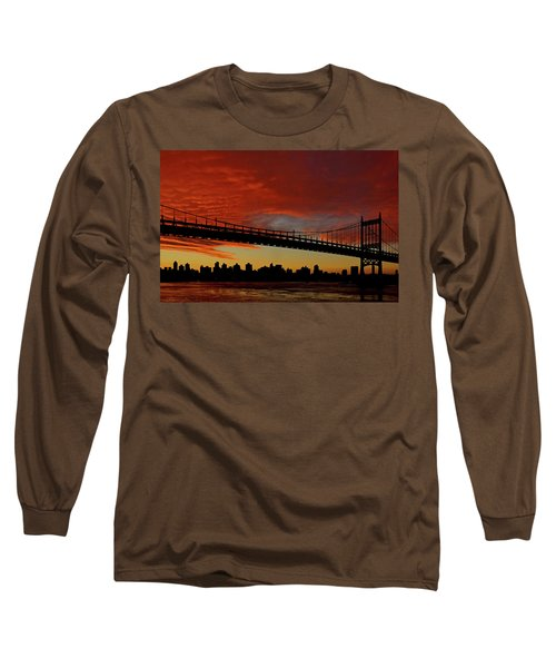The Sky Is Burning Long Sleeve T-Shirt