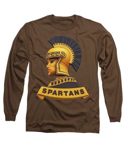 The Spartans Long Sleeve T-Shirt by Mark Dodd