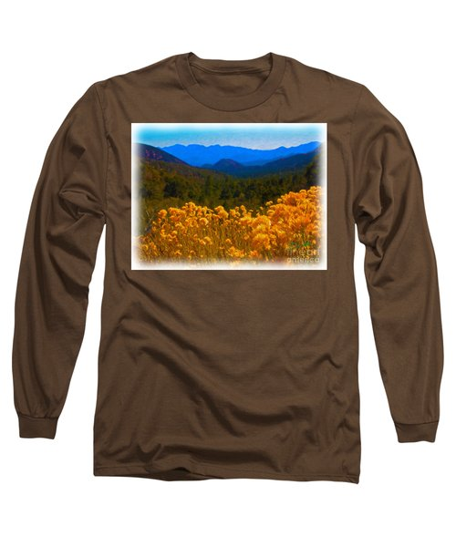 The Spring Mountains Long Sleeve T-Shirt
