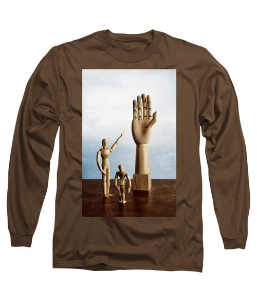 The Story Of The Creator Long Sleeve T-Shirt by Mark Fuller