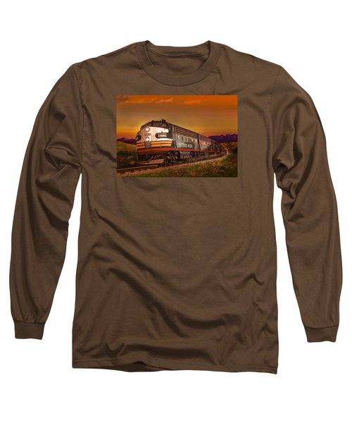The Summer Of 1952 Long Sleeve T-Shirt by J Griff Griffin