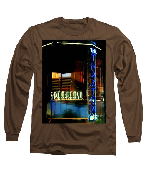 The Thaxton Speakeasy Long Sleeve T-Shirt by Kelly Awad