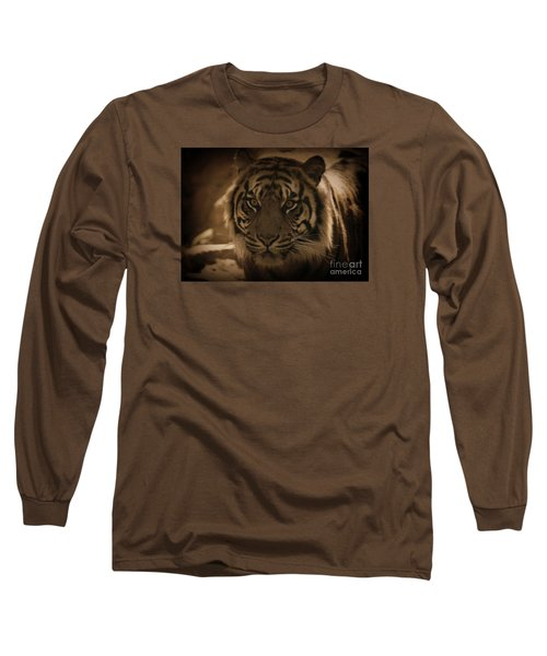 Long Sleeve T-Shirt featuring the photograph The Tiger by Lisa L Silva