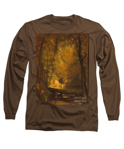Long Sleeve T-Shirt featuring the photograph The Trout Pool by John Stephens
