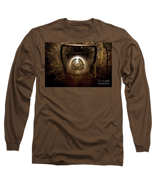 Long Sleeve T-Shirt featuring the photograph The Tunnel by Randall Cogle