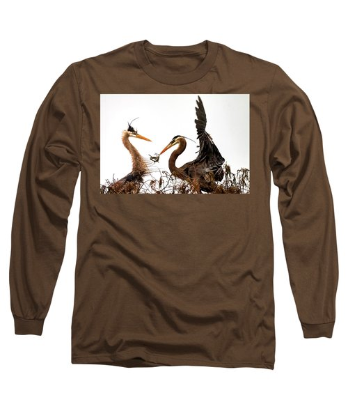 The Valentine's Gift Long Sleeve T-Shirt by Cyndy Doty