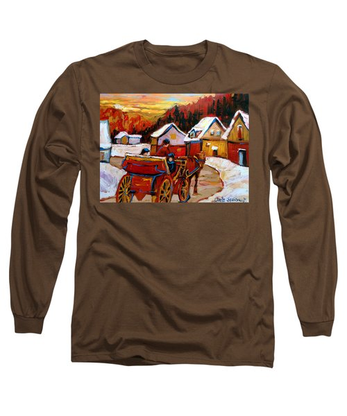 The Village Of Saint Jerome Long Sleeve T-Shirt