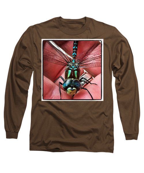 The Visitor Long Sleeve T-Shirt by Karl Reid