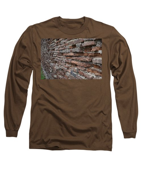 Long Sleeve T-Shirt featuring the photograph The Wall by Cendrine Marrouat
