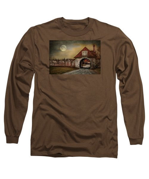 Long Sleeve T-Shirt featuring the photograph The Watcher by Robin-Lee Vieira