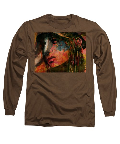 Long Sleeve T-Shirt featuring the painting The Way We Were  by Paul Lovering