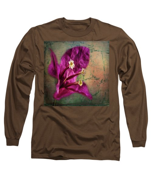 Long Sleeve T-Shirt featuring the photograph The Well Dressed Bougainvillea by Bellesouth Studio