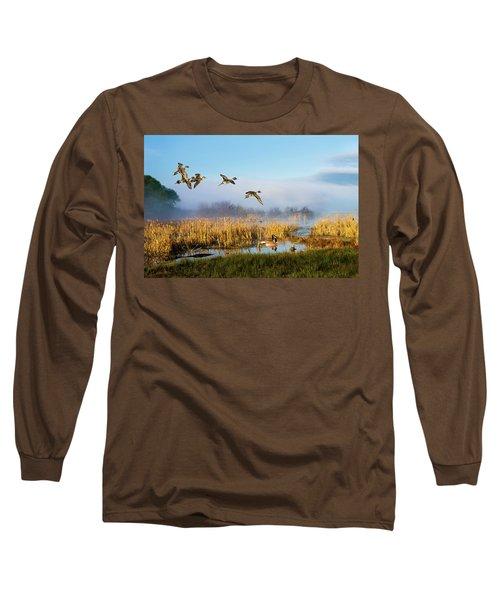 The Wetlands Crop Long Sleeve T-Shirt