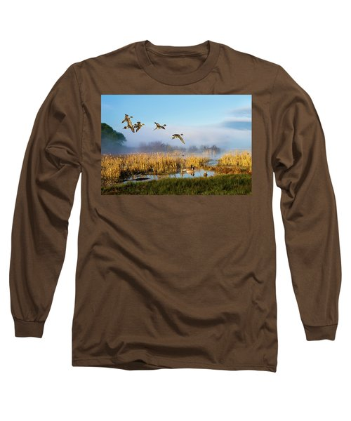 The Wetlands Crop Long Sleeve T-Shirt