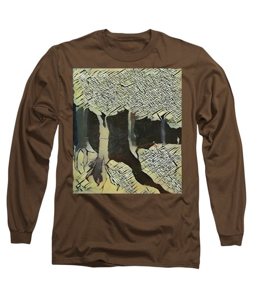 The Woods Are Lovely Long Sleeve T-Shirt