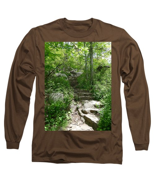 The Work Of Unknown Hands Long Sleeve T-Shirt by Joel Deutsch
