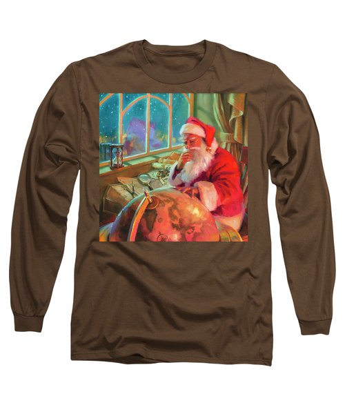 The World Traveler Long Sleeve T-Shirt