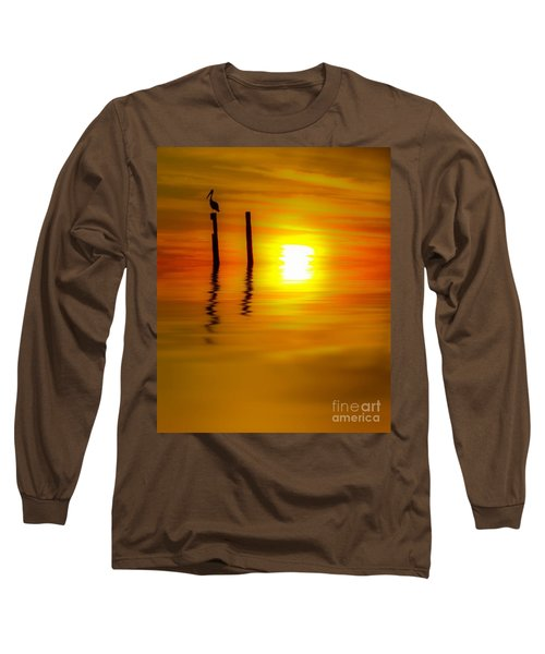 There Are Moments Long Sleeve T-Shirt by Kym Clarke