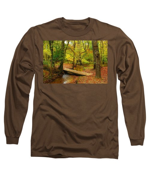 There Is Peace - Allaire State Park Long Sleeve T-Shirt