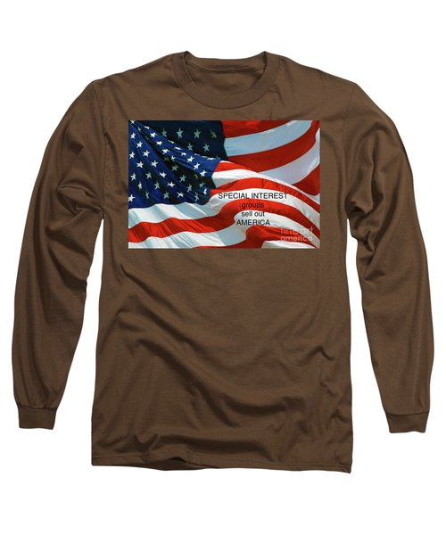 Long Sleeve T-Shirt featuring the photograph They Sell Us Out by Paul W Faust - Impressions of Light