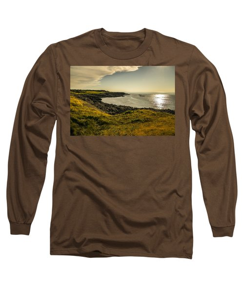 Thinking Sunset Long Sleeve T-Shirt by Will Burlingham