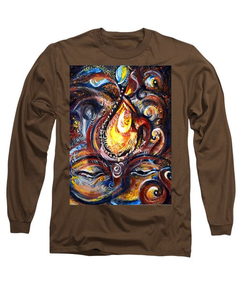 Third Eye - Abstract Long Sleeve T-Shirt by Harsh Malik