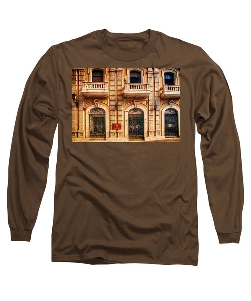 Three Balconies Long Sleeve T-Shirt