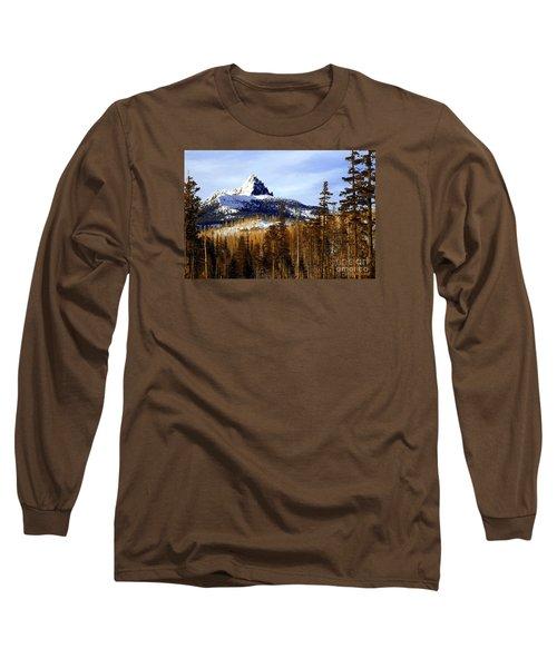 Three Fingered Jack Long Sleeve T-Shirt by Steve Warnstaff