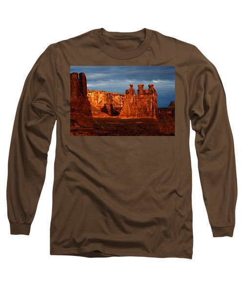 Long Sleeve T-Shirt featuring the photograph Three Gossips by Harry Spitz