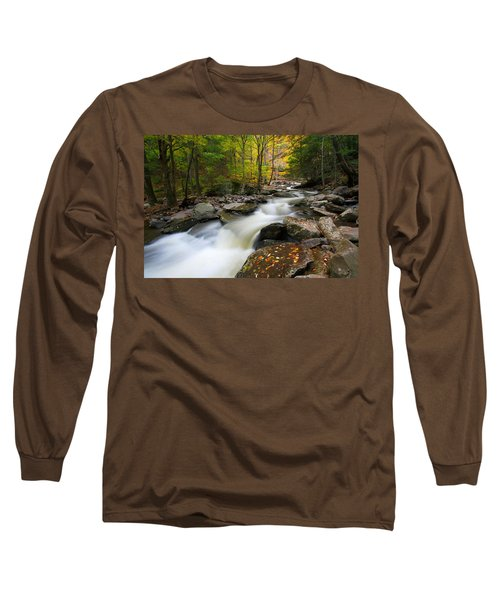 Three Seconds In Fall Long Sleeve T-Shirt