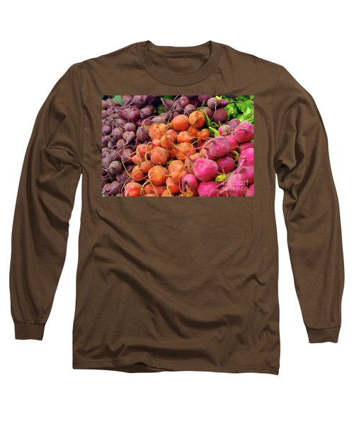 Three Types Of Beets Long Sleeve T-Shirt